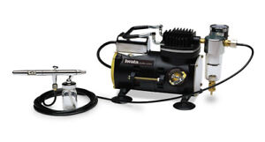BRAND NEW/UNUSED: Iwata Airbrush/Compressor & Cleaning Kit