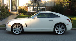 2005 Chrysler Crossfire Coupe -Alabaster white, Auto, low K's