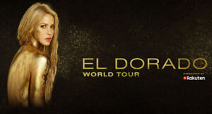 2 GREAT Shakira Ticket for El Dorado Show