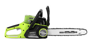 """EarthwiseCordless Electric Chainsaw 14"""""""