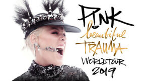 Pink Beautiful Trauma Tickets  May 13 2019
