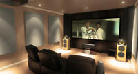 Home Theater, Conference Room, Digital Signage, Security Systems