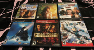 Playstation 2 PS2 Video Game Lot