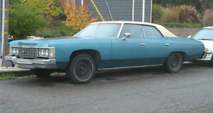 Looking to buy 1974,1975,1976 chevy Impala