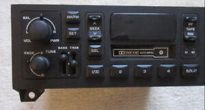 1984 to 2002 Dodge  Jeep Plymouth Chrysler AM FM Cassette radio