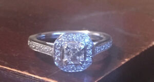 Engagement ring and wedding band TRY YOUR TRADE!!!!!
