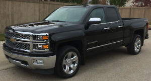 2015 Chevrolet Silverado Double Cab LTZ 4X4 Leather 70,850 Km
