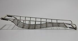 Bath Storage rack - metal and ceramic with rubber protective pads - very handsome! Vintage.