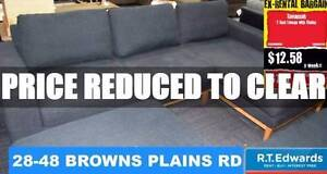 Savannah 2 Seat Lounge Suite with Chasie - Warranty Browns Plains Logan Area Preview