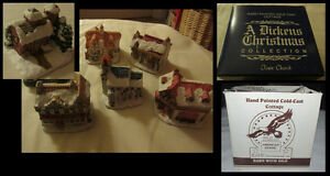 Dickens Christmas collection hand painted cold cast miniatures