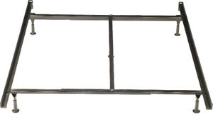 Twin/Full/Queen Metal Glide Bed frame
