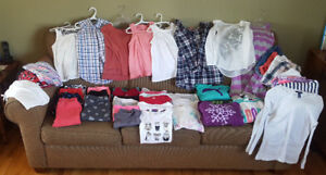 Girls clothes up to size 12