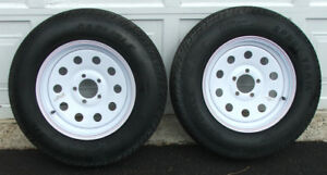 Trailer Tires/Rims for sale. Brand New! Never used!