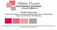 Striking Occasions Event Planning Jump into Spring Promo