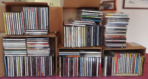 Over 100 CD's consisting of a very nice music.