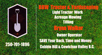BRW Tractor & Yardscaping