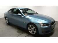 2008 BMW 320i SE COUPE MET BLUE,6 SPEED,NEW MOT,HALF LEATHER,LOVELY CAR