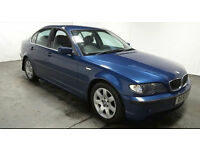2001(51)BMW 320i SE MET BLUE,FULL LEATHER,LOW MILES,NEW MOT,GREAT VALUE