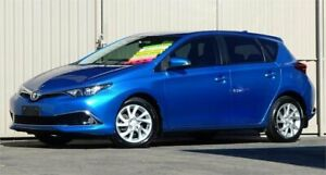 2016 Toyota Corolla ZRE182R MY15 Ascent Sport Blue Mica 6 Speed Manual Hatchback