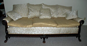 Couch with Two Matching Chairs