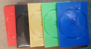 SINGLE DISC DVD CASES (QTY 25+ Available)