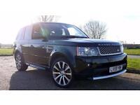 2010 Land Rover Range Rover Sport Tdv8 Autobiography Sport Diesel black Automati