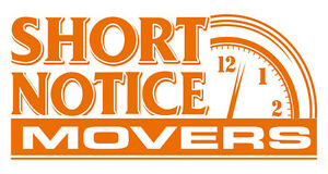 The REAL Short Notice Movers - 252-5450