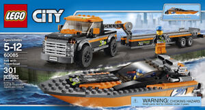Brand New - LEGO 60085 City Great Vehicles & Power boat