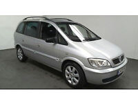 2005(05)VAUXHALL ZAFIRA 1.6 16V BREEZE MET SILVER,LOW MILES,1 OWNER,CLEAN CAR