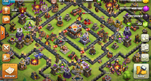 CLASH OF CLANS BASE -LEVEL 132