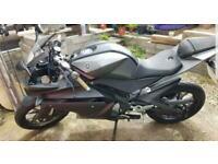 Yamaha yzf r125 low mileage