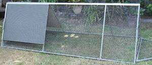 Galvanised Mesh Chicken Run Mover Waratah Newcastle Area Preview