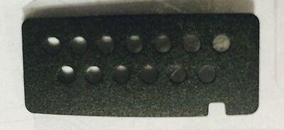 Motorola Ht750 Ht1250 Ht1550 Escutcheon 1386058a01 New Oem