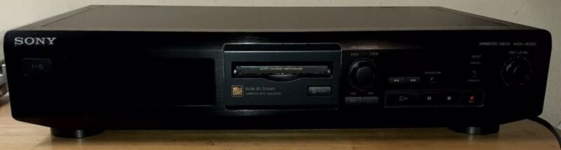 Sony minidisc player deck MDS-JE320