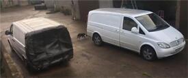 Mercedes Vito viano w639 111 cdi van breaking parts