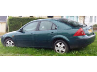 2001 Ford Mondeo 2.0 (Mot May 17) 133k Great Runner £350