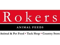 Warehouse Assistant - Animal Feeds