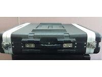 2u Rackmount Hard Plastic Amplifier Flightcase