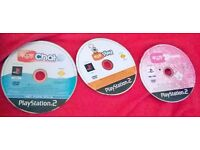 EYE TOY Camera & GAMES for PS2 Playstation 2 - Eye Toy Groove - Eye Toy Chat - Eye Toy Play -
