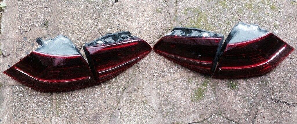 VW GOLF R MK7 REAR LIGHTS