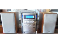 JVC 5CD Changer Micro System UX-S59