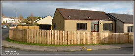 2 Bedroom semi detached bungalow for sale in Golspie, Sutherland.