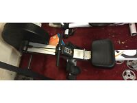 Almost brand new rowing machine for sale