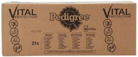 Pedigree Real Meals in Gravy Dog Food Pouches 84 pk, £12 per box (4 available)