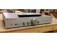Cambridge Audio Azur 340A Stereo Integrated Amplifier with remote