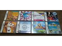 8x Nintendo DS games includes Soul Bubbles, Project Rub, Arkanoid, Zoo Keeper, Big Bang Mini etc