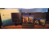 Sony Playstation 4 PS4 CUH-1216A - 1TB - Plus 4 Games