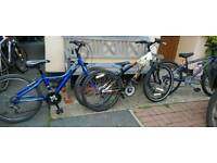 Boys 24 inch bikes for sale