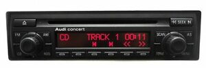 98 - 05 AUDI A4 S4 A6 S6 A8 TT Concert Radio Stereo Receiver CD Player OEM CODE