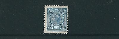 Brazil 1918 20 Liberty Head  Scott 211 200R  F Vf Mlh